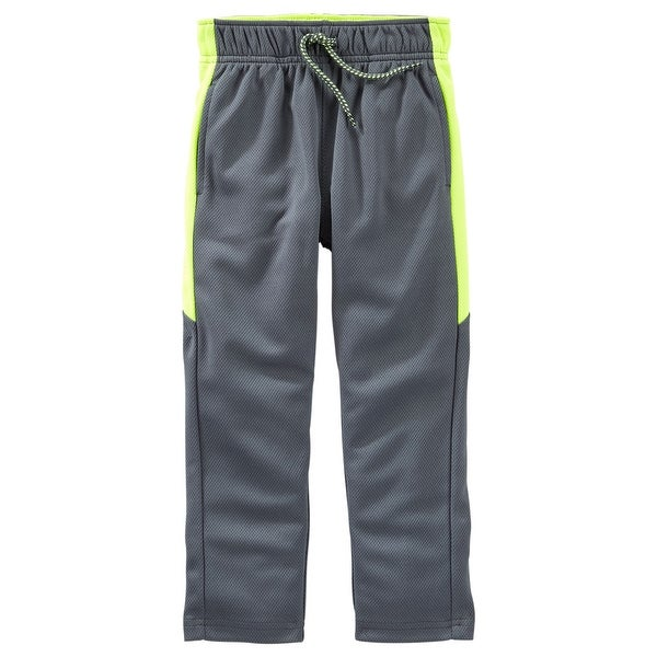 6 Months Gray OshKosh BGosh Baby Boys Mesh Active Pants