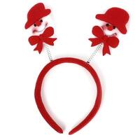 Unique Bargains Cartoon Snowman Style Decoration Adornment Christmas Xmas Hairband Headband