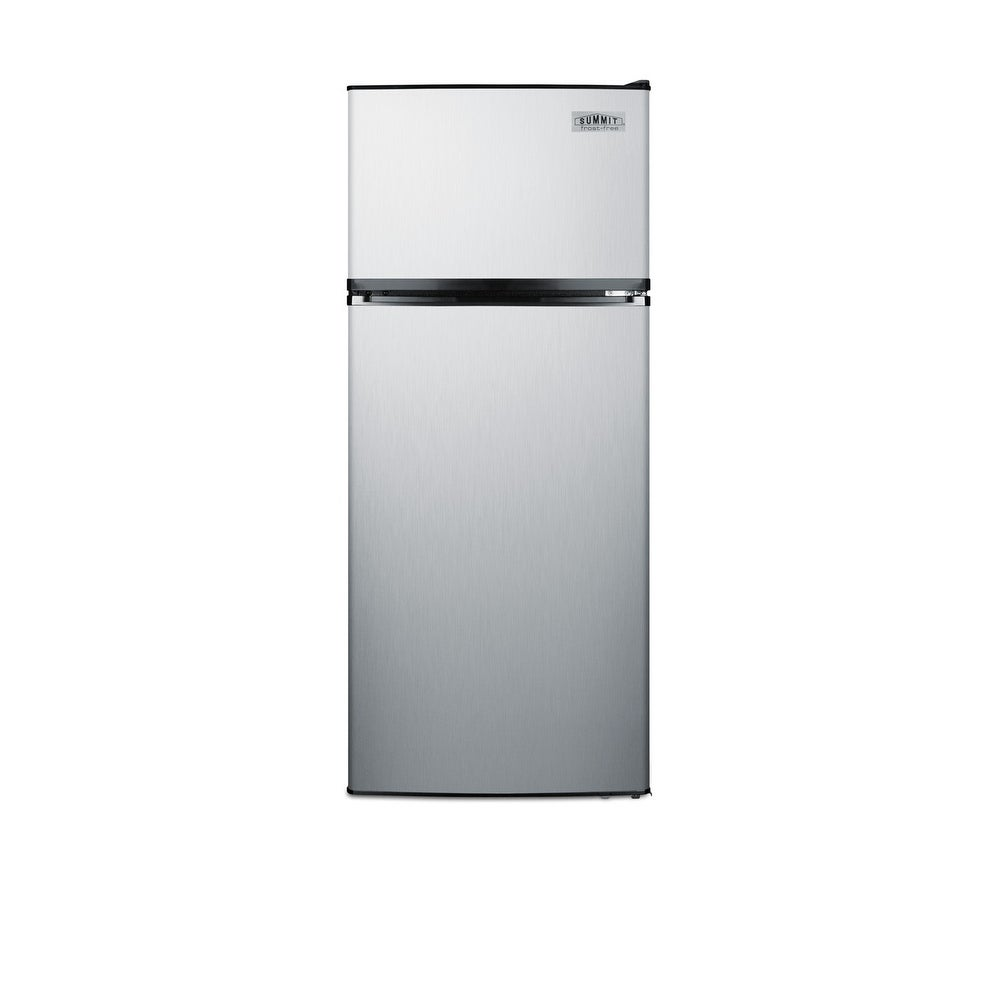 """Summit  FF1159  24"""" Wide 10.3 Cu. Ft. Energy Star Rated Top Mount Refrigerator with Stainless Steel Construction (Stainless Steel)"""