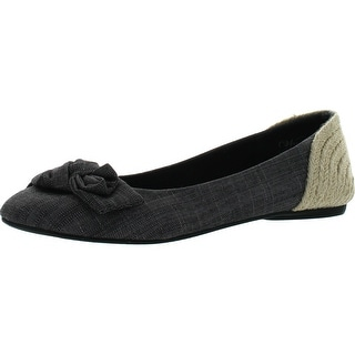 Wanted Shoes Women's Starrie Ballet Flat - Black