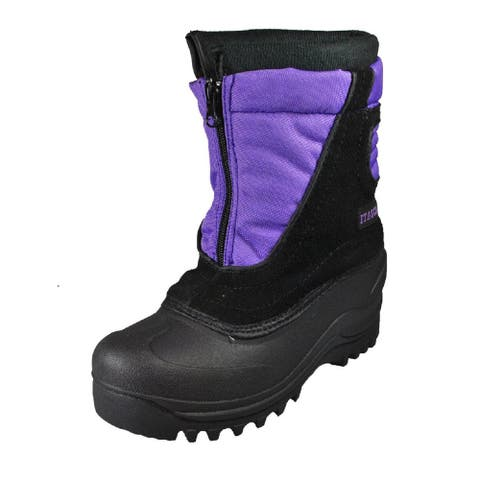 Itasca Boys Cerebus Mid-Calf Pull On Snow Boots