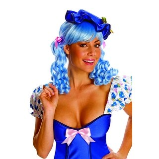 Strawberry Shortcake Blueberry Muffin Deluxe Costume Wig - Blue