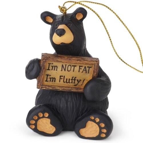 Im Not Fat Im Fluffy Ornament