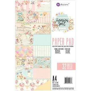 Prima Marketing Double-Sided Paper Pad A4 32/Pkg-Heaven Sent 2; 8 Designs/4 Each