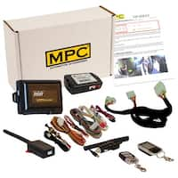 Complete 2-Way LCD Remote Start Keyless Entry Kit w/T-Harness For 2011-2013 Hyundai Sonata - Firmware Preloaded
