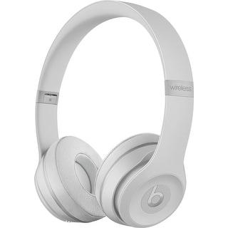 Beats by Dr. Dre - Beats Solo 3 Wireless Headphones Matte Silver