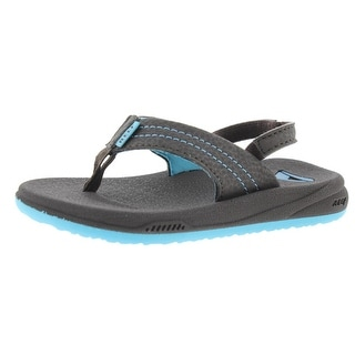 Reef Boys Grom Phantom Slingback Sandals Toddler Thong - 5/6 medium (d)