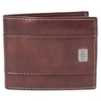 Dockers Men's Leather Traveler Bifold Wallet - One size
