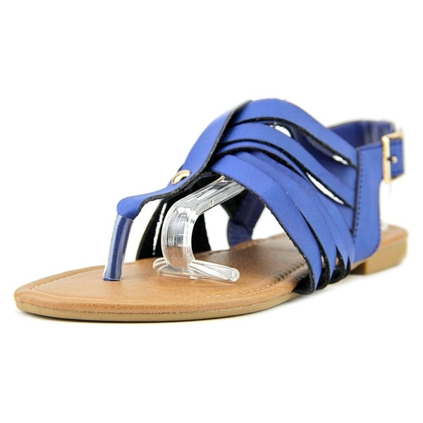 Adriana New York Acacia-40 Women Open Toe Synthetic Blue Gladiator Sandal