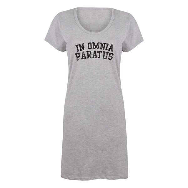 Shop In Omnia Paratus Pop Culture Inspired Sleep Shirt On Sale