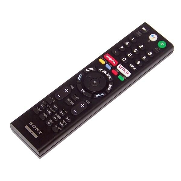 OEM Sony Remote Control Originally Shipped With XBR75X850F, XBR-75X850F