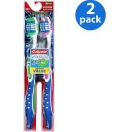 Colgate MaxFresh Toothbrush Medium Full Head 2 Each