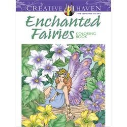 Creative Haven: Enchanted Fairies - Dover Publications