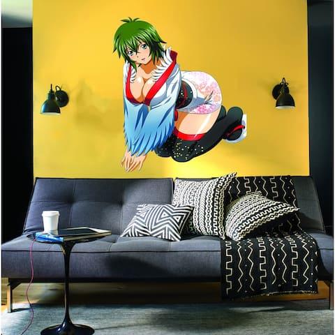 Hot Anime Decal, Hot Anime Sticker, Hot Anime Wall Decor