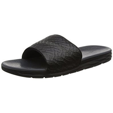 Nike Mens BENASSI SOLARSOFT, BLACK/ANTHRACITE