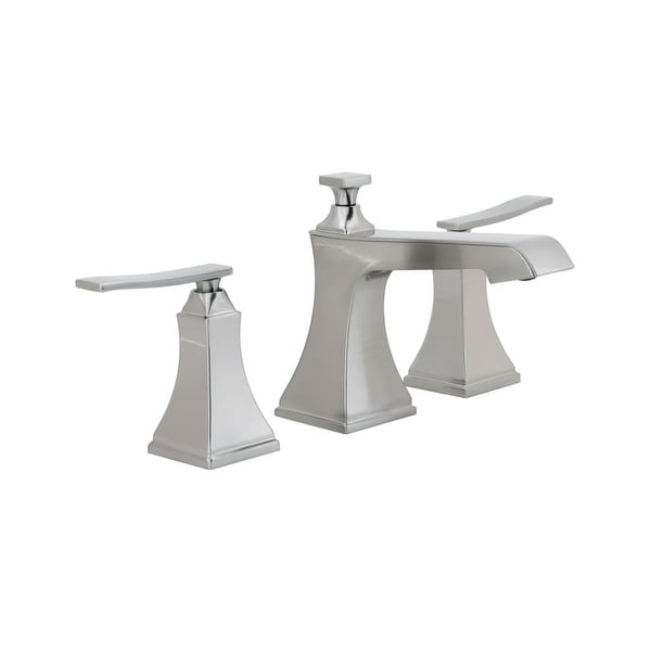 Miseno ML801 Elysa-B Widespread Bathroom Faucet with Solid Brass Pop-Up Drain Assembly - n/a