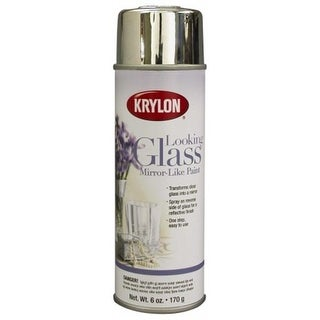 Krylon Division 6 Oz Looking Glass Mirror Like Spray Paint 9033