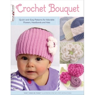 Design Originals-Crochet Bouquet For Baby