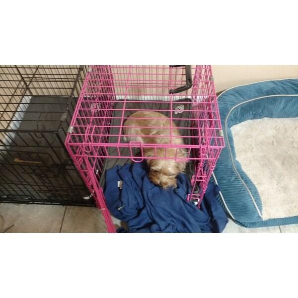 Shop Orthopedic Memory Foam Charcoal Dog Crate Pad Free Shipping