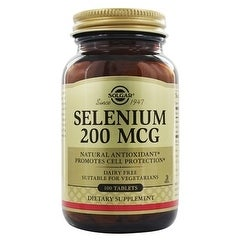 Solgar Selenium 200 mcg (100 Tablets)