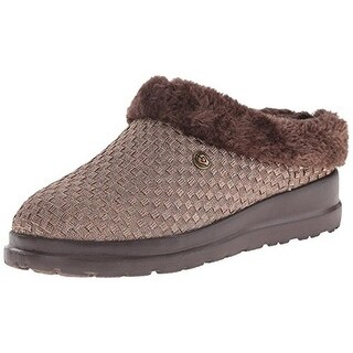 Skechers Womens Cherish Snugglers Woven Relaxed Fit Mules - 5