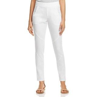 XCVI Womens Camille Lounge Pants Stretch Back Pockets