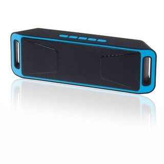 Indigi® [Blue] Portable Bluetooth Wireless Speaker FM Sub-woofer Super Bass HIFI Stereo