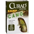 Curad Camp Camo Bandages One Size Brown 25 Each - Thumbnail 0