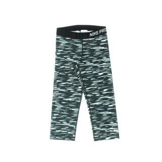 Nike Womens Camouflage Stretch Capri Leggings