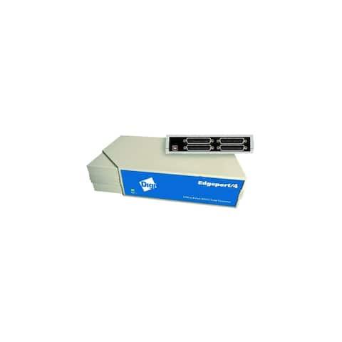 Digi 301-1000-04 Digi Edgeport/4 Multiport Serial Adapter - 4 x DB-9 Serial - External Hot-swappable