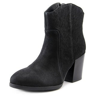 Nine West Rubble Round Toe Leather Bootie