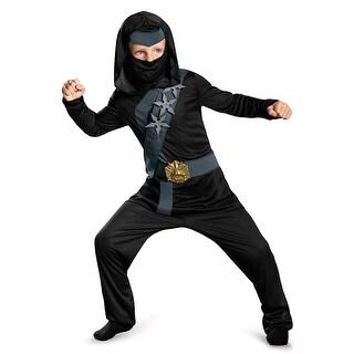 Disguise Blackstone Ninja Child Costume - Black
