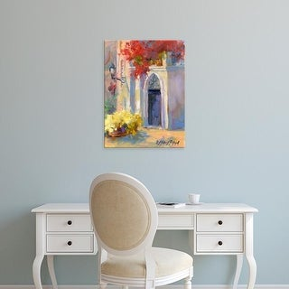 Easy Art Prints Julie G. Pollard's 'Mission Impression III' Premium Canvas Art