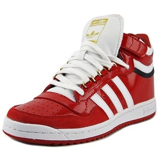 Adidas Concord 2.0 Mid Round Toe Patent Leather Sneakers