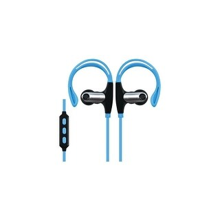 Supersonic Iq-131Bt Built-In Bluetooth Sports Headphones Blue