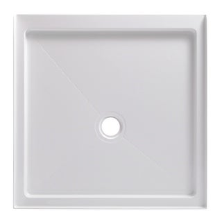 "Link to Foremost 3636C 36"" x 36"" Square Shower Base with Single Threshold and - White Similar Items in Showers"