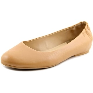 Via Spiga Jaden Round Toe Leather Flats