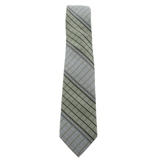 J. Campbell LA Mens Neck Tie Silk Plaid - o/s