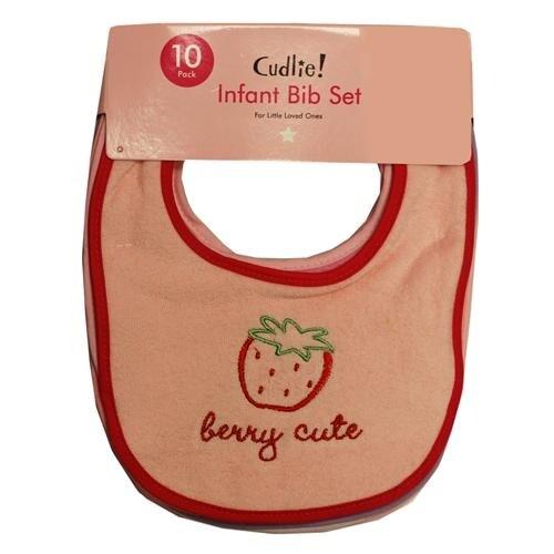 Cudlie Infant Bib Set - 10 Pack