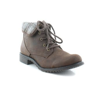 White Mountain Neponset Women's Boots Brown/Mul|https://ak1.ostkcdn.com/images/products/is/images/direct/edcc20bef4f6190588064baa89cec1fbc07e27ff/White-Mountain-Neponset-Women%27s-Boots-Brown-Mul.jpg?impolicy=medium