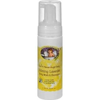 Earth Mama Angel Baby Organic Shampoo and Body Wash Lavender - 5.3 fl oz