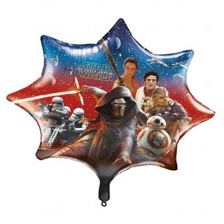 Star Wars 30342015 Star Wars The Force Awakens 28 Foil Party Balloon