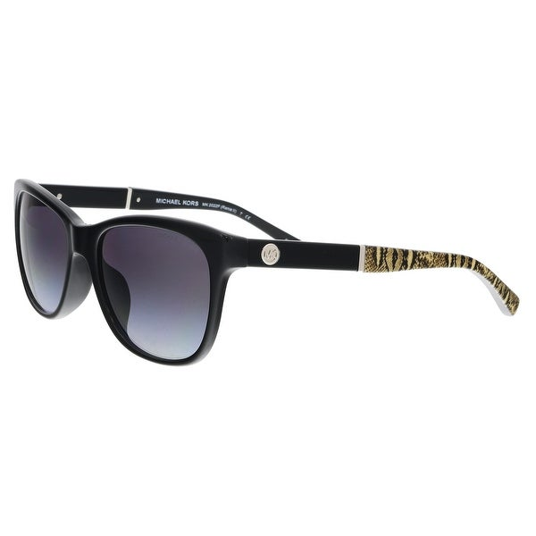 Michael Kors MK2022F 316811 RANIA II Black Rectangle Sunglasses - 54-17-135