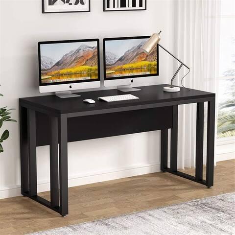55 inch Computer Desk Large Office Desk Writing Desk