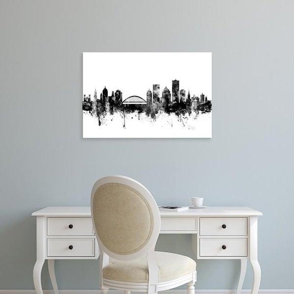 Easy Art Prints Michael Tompsett's 'Rochester New York Skyline' Premium Canvas Art