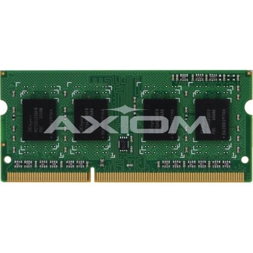"""""""Axion AX27693524/1 Axiom PC3-12800 SODIMM 1600MHz - 4 GB (1 x 4 GB) - DDR3 SDRAM - 1600 MHz DDR3-1600/PC3-12800 - SoDIMM"""""""