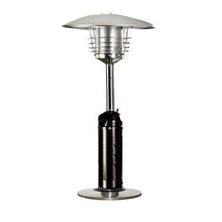 PrimeGlo HLDS032-BB Tabletop Propane Patio Heater - bronze/stainless