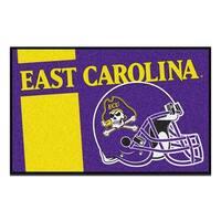 East Carolina University Custom Logo Starter Rug