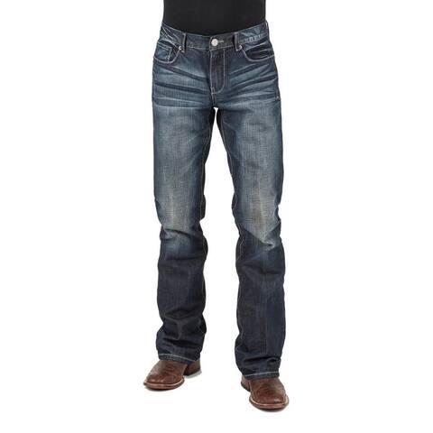 Tin Haul Western Jeans Mens Jagger Bootcut Blue