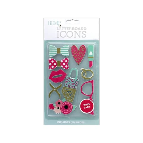 Lp-006-00036 diecuts letterboard icons boss lady